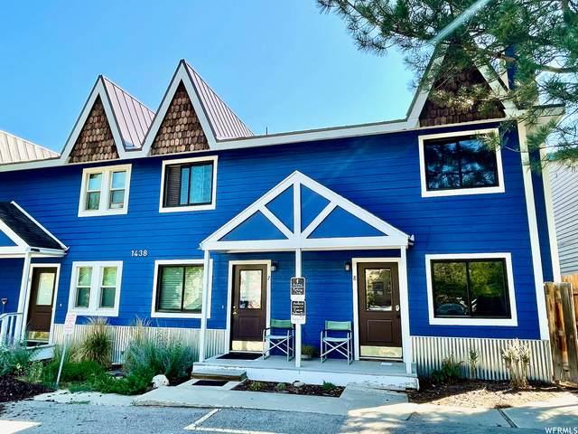 1438 Park Ave Ave #8, Park City, UT 84060 (MLS #1759865) :: Summit Sotheby's International Realty