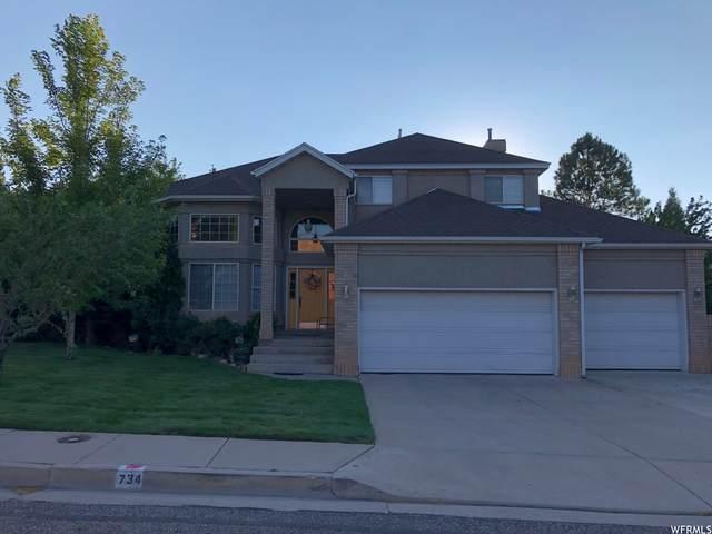 734 S 1100 W, Cedar City, UT 84720 (#1760535) :: Berkshire Hathaway HomeServices Elite Real Estate