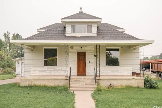 418 E 400 S, River Heights, UT 84321 (#1760834) :: Berkshire Hathaway HomeServices Elite Real Estate