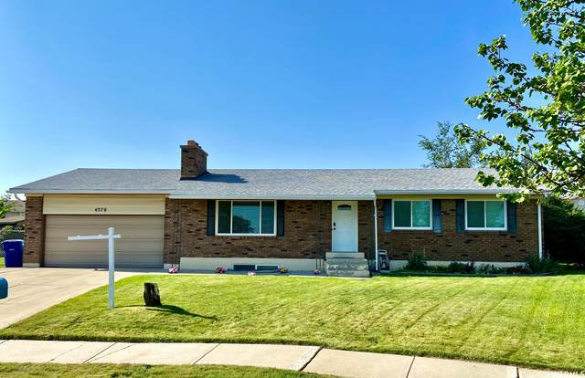 4370 S Weymouth Pl, West Valley City, UT 84119 (#1761658) :: Berkshire Hathaway HomeServices Elite Real Estate