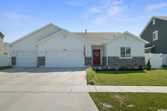 3595 S Water Lilly Ln, Syracuse, UT 84075 (#1764040) :: Bustos Real Estate | Keller Williams Utah Realtors