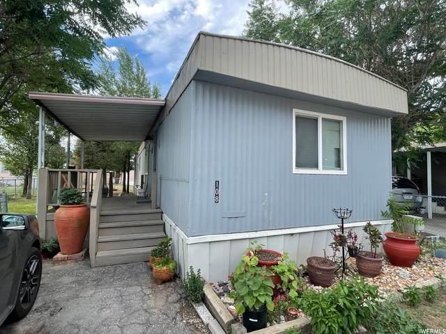 8155 S Redwood Rd #108, West Jordan, UT 84088 (#1764072) :: Doxey Real Estate Group