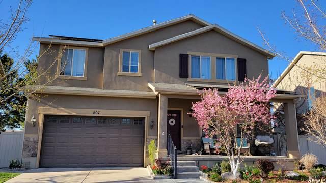 807 E Whisper Cove Rd, Sandy, UT 84094 (#1766617) :: Utah Dream Properties