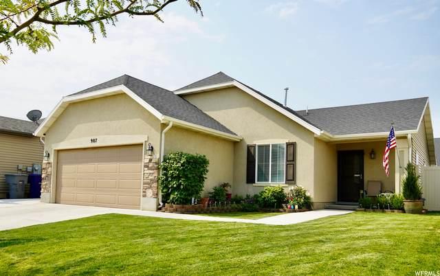 987 N Cambria Dr W, North Salt Lake, UT 84054 (#1766633) :: Bustos Real Estate | Keller Williams Utah Realtors