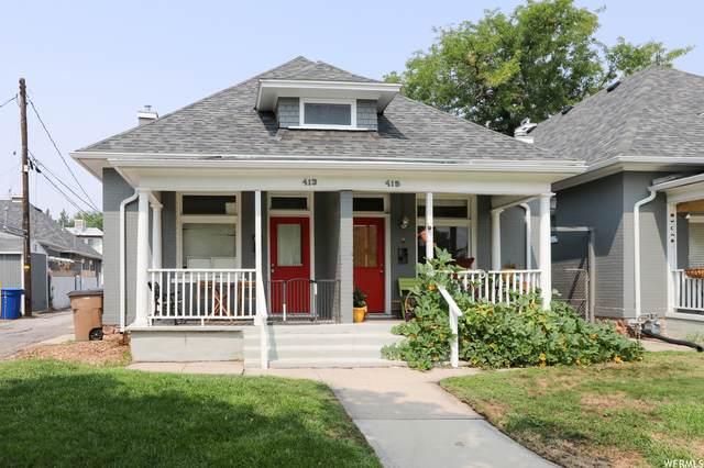 413 E 700 S, Salt Lake City, UT 84111 (#1767353) :: Berkshire Hathaway HomeServices Elite Real Estate
