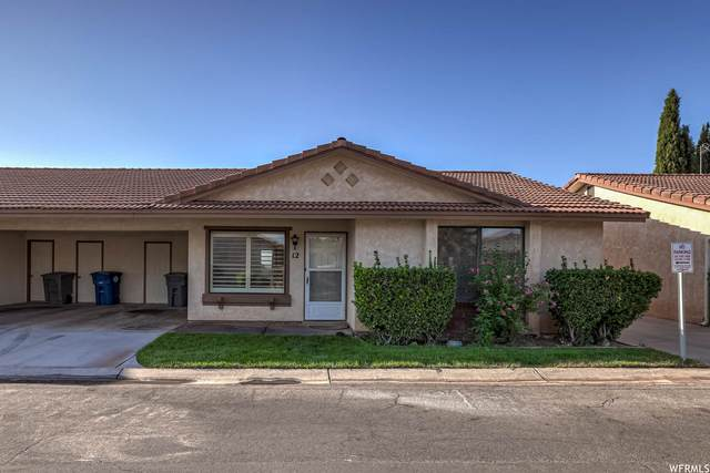 1075 N 1400 W #12, St. George, UT 84770 (#1769671) :: The Perry Group