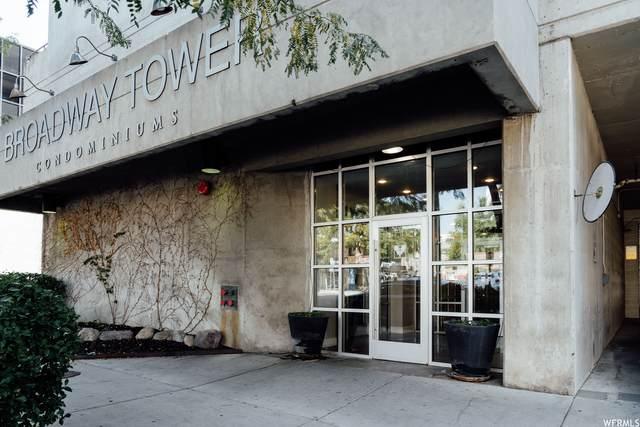 230 E Broadway S #709, Salt Lake City, UT 84111 (#1770434) :: Doxey Real Estate Group