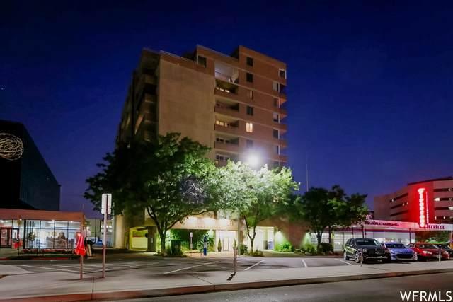 230 E Broadway S #706, Salt Lake City, UT 84111 (MLS #1770752) :: Summit Sotheby's International Realty