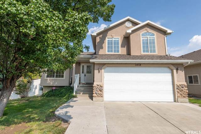 1478 W Duck Pond Ln, Taylorsville, UT 84123 (#1770788) :: Bustos Real Estate | Keller Williams Utah Realtors