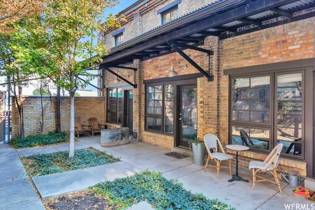346 W Pierpont Lofts Ave E109, Salt Lake City, UT 84101 (MLS #1771073) :: Summit Sotheby's International Realty