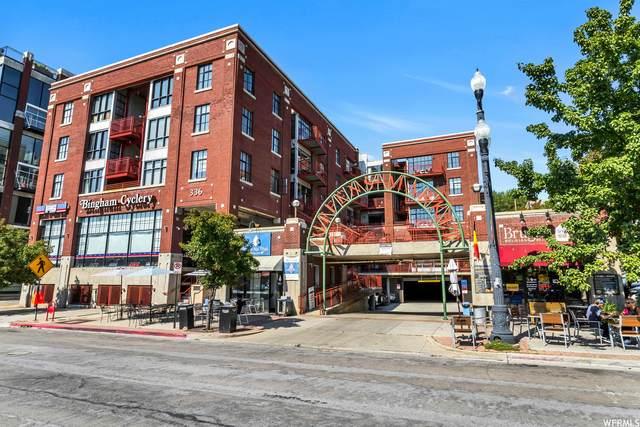 336 W Broadway S #207, Salt Lake City, UT 84101 (#1771338) :: Livingstone Brokers