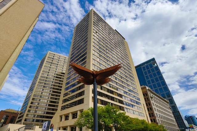 44 W Broadway #505, Salt Lake City, UT 84101 (#1771559) :: Bustos Real Estate | Keller Williams Utah Realtors