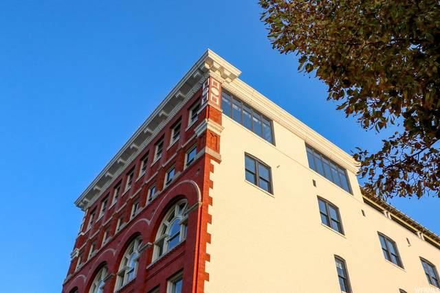 159 W Broadway #601, Salt Lake City, UT 84101 (#1771560) :: Pearson & Associates Real Estate