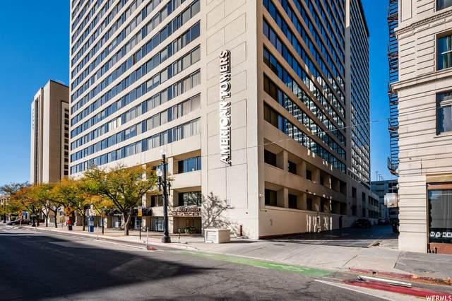48 W 300 S 402N, Salt Lake City, UT 84101 (#1773126) :: Bustos Real Estate | Keller Williams Utah Realtors