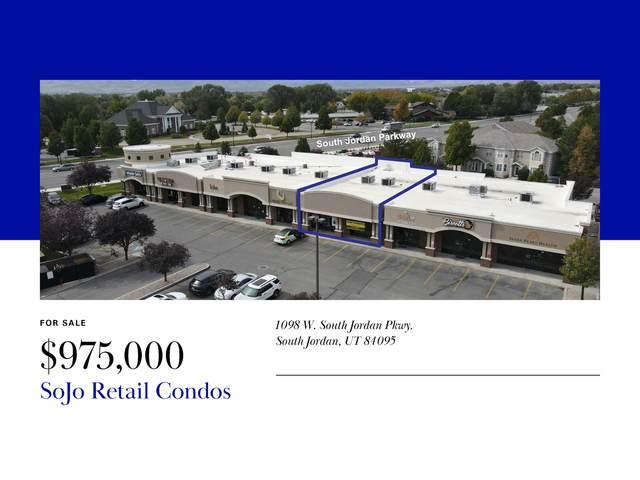 1098 W South Jordan Pkwy #107, South Jordan, UT 84095 (#1773459) :: Doxey Real Estate Group
