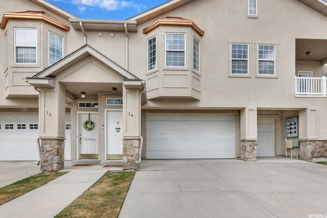 16 E Courtyard Ln, Centerville, UT 84014 (#1773602) :: Kennedy Anderson   Realty One Group Areté