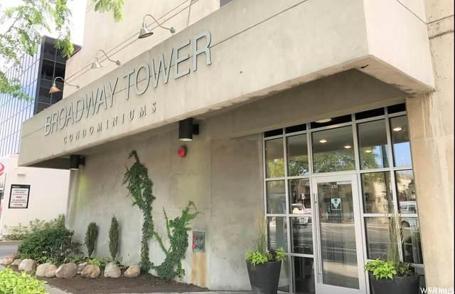 230 E Broadway S #1205, Salt Lake City, UT 84111 (#1773765) :: Doxey Real Estate Group