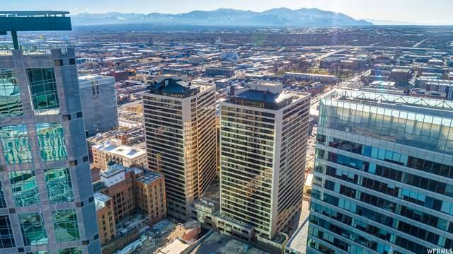 44 W 300 S 1906S, Salt Lake City, UT 84101 (#1773983) :: Bustos Real Estate | Keller Williams Utah Realtors