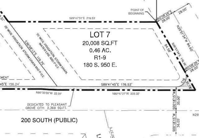 180 S 950 E #7, Pleasant Grove, UT 84062 (#1774769) :: The Fields Team