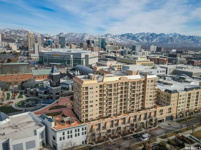 5 S 500 W #814, Salt Lake City, UT 84101 (#1724330) :: Utah Dream Properties