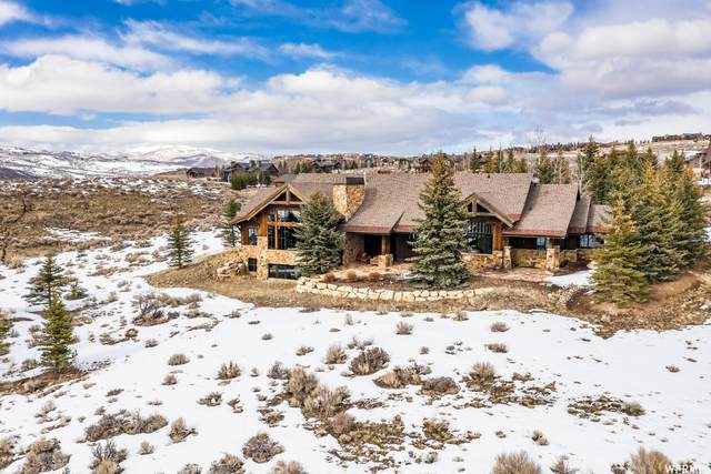 7701 N West Hills Trl, Park City, UT 84098 (#1729667) :: REALTY ONE GROUP ARETE