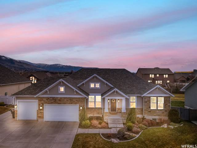 397 W Daniel Ct, Farmington, UT 84025 (#1731330) :: Bustos Real Estate | Keller Williams Utah Realtors