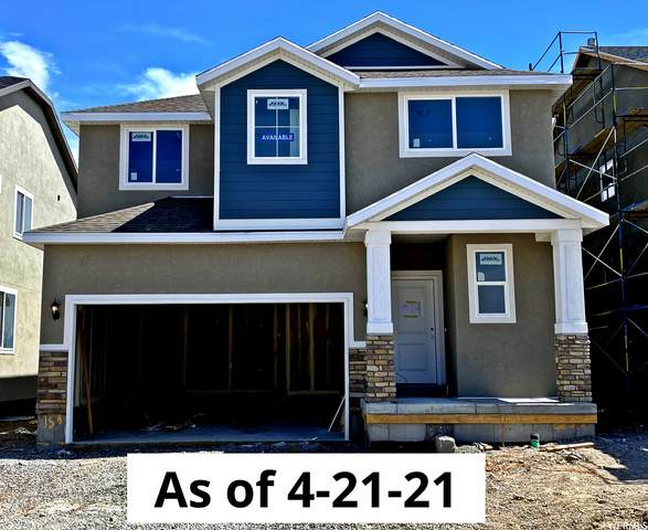 206 N Concord View Way #158, Saratoga Springs, UT 84045 (#1731963) :: goBE Realty