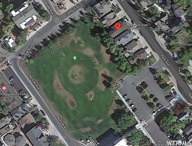 1273 Park Ave, Park City, UT 84060 (#1740090) :: Colemere Realty Associates