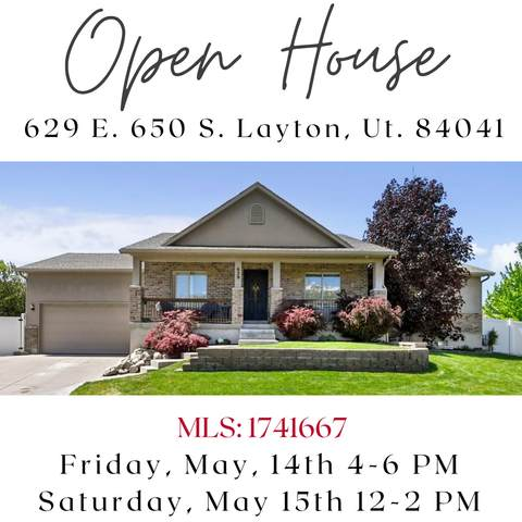 629 E 650 S, Layton, UT 84041 (#1741667) :: Utah Dream Properties