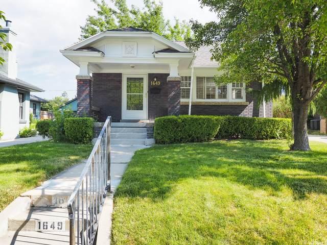 1649 E Harvard Ave, Salt Lake City, UT 84105 (#1756403) :: Berkshire Hathaway HomeServices Elite Real Estate