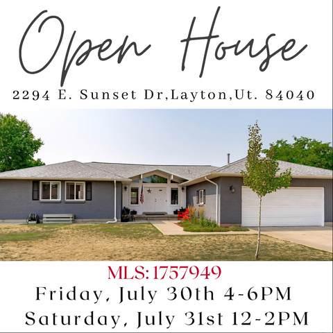 2294 E Sunset Dr, Layton, UT 84040 (#1757949) :: Berkshire Hathaway HomeServices Elite Real Estate