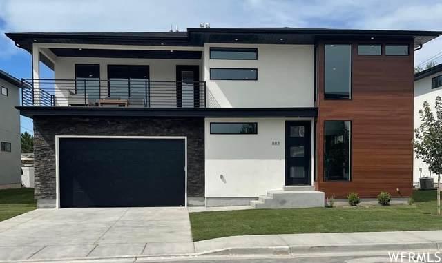 883 E Sydnee View Ln S #2, Millcreek, UT 84107 (#1758850) :: Bustos Real Estate | Keller Williams Utah Realtors