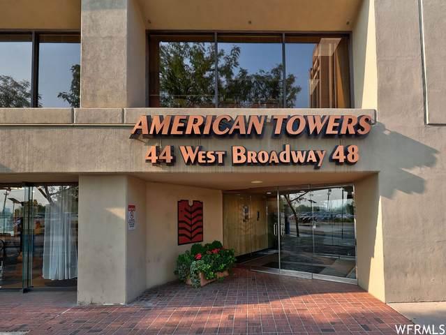 44 W Broadway S 1507 S, Salt Lake City, UT 84101 (#1765620) :: Bustos Real Estate | Keller Williams Utah Realtors