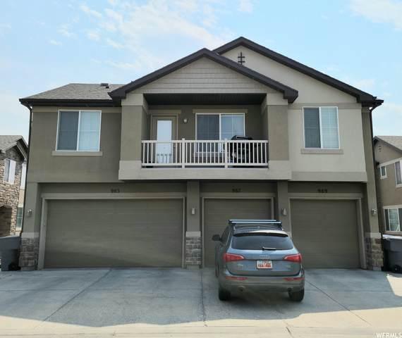 987 W Castleton Dr N, North Salt Lake, UT 84054 (#1765872) :: Bustos Real Estate | Keller Williams Utah Realtors