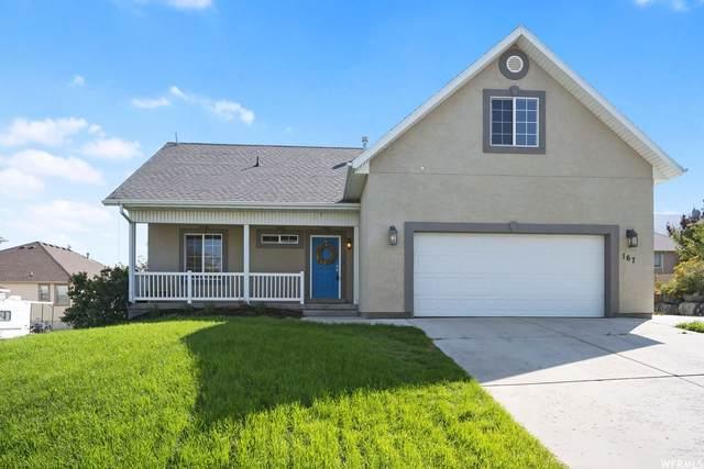 167 W Fairway Blvd S, Saratoga Springs, UT 84045 (#1769687) :: goBE Realty