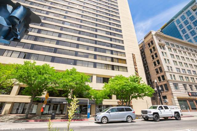 44 W Broadway S #1605, Salt Lake City, UT 84101 (MLS #1775734) :: The Shear Team