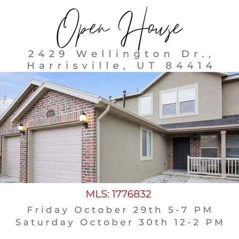 2429 N Wellington, Harrisville, UT 84414 (#1776832) :: Utah Real Estate
