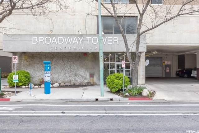 230 E Broadway #807, Salt Lake City, UT 84111 (#1739015) :: Villamentor