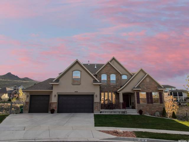 14918 S New Maple Dr, Herriman, UT 84096 (#1740175) :: Black Diamond Realty