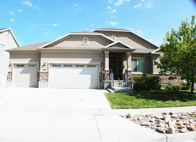 694 W Tribeca Way, Stansbury Park, UT 84074 (#1770604) :: Doxey Real Estate Group