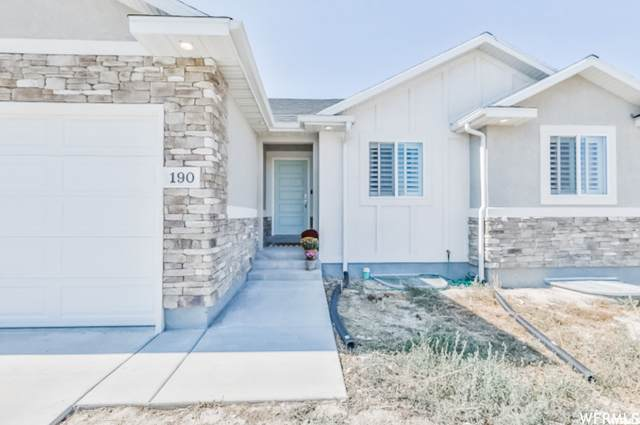 190 S Mustang Ridge Rd, Grantsville, UT 84029 (#1771472) :: Exit Realty Success