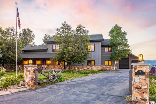 82 W Old Ranch Rd, Park City, UT 84098 (#1728349) :: Livingstone Brokers