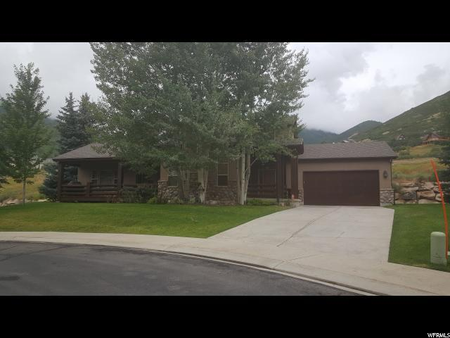 1232 W Ranch Cir, Midway, UT 84049 (MLS #1468061) :: High Country Properties