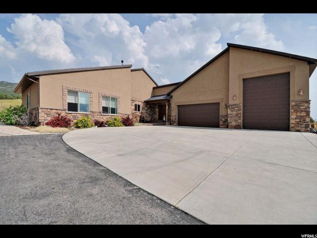 500 Trails End Rd, Coalville, UT 84017 (MLS #1474086) :: High Country Properties