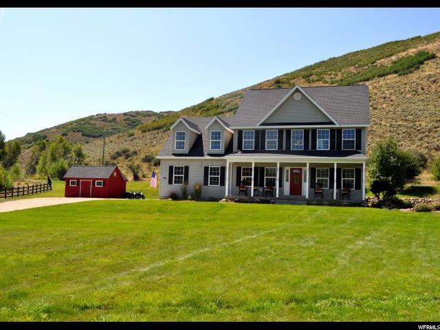 4210 W Browns Canyon Rd, Peoa, UT 84061 (MLS #1474742) :: High Country Properties