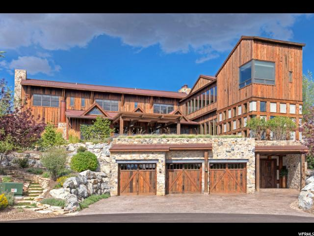 8642 N Sunset Cir, Park City, UT 84098 (#1475371) :: Colemere Realty Associates