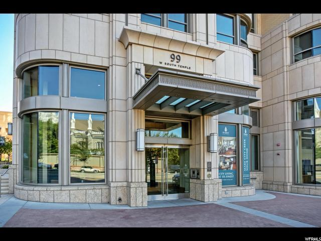 99 W South Temple St #2406, Salt Lake City, UT 84101 (#1478344) :: The Fields Team