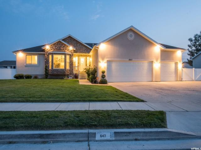 647 W Dwayne Dr, Lehi, UT 84043 (#1478435) :: Red Sign Team