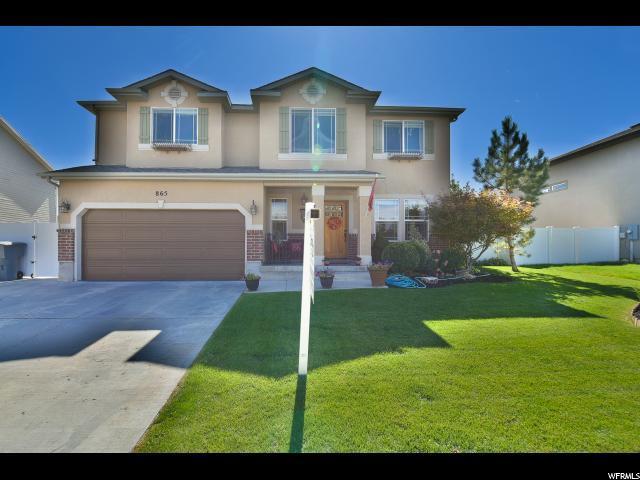865 W South Hampton N, North Salt Lake, UT 84054 (#1481712) :: Action Team Realty