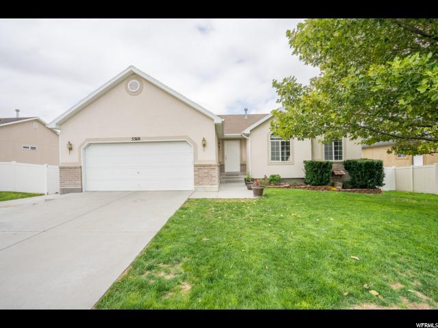 5368 W Morning Blush Dr, Herriman, UT 84096 (#1481949) :: William Bustos Group | Keller Williams Utah Realtors
